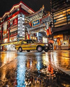 Canon 50mm 1.8: (Best lens for Night Street photography)