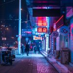How do you shoot street photography at night?