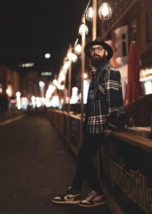 Canon 50mm F1.8: (Best lens for Night Street Portrait photography)