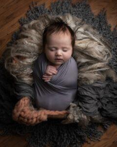 Nikkor 50mm f/1.8G: (Best prime lens for newborn photography)